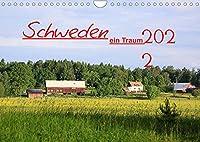 2022 Schweden ein Traum (Wandkalender 2022 DIN A4 quer): Mit diesen Kalender moechte ich sie teilhaben lassen an der Stille,der Weite und der fast Menschenleeren Natur Schwedens. Aufgenommen ,waerend einer Reise durch Jaemtland. (Monatskalender, 14 Seiten )