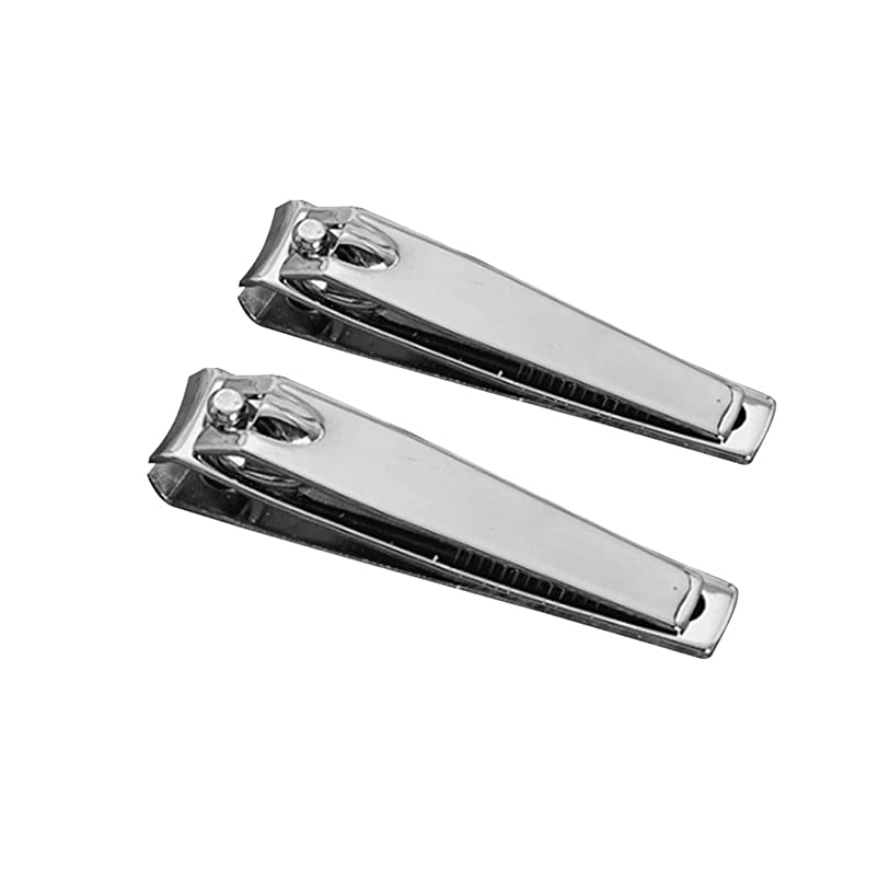 罰する錫子供時代Ruikey 爪切り ネイルはさみ ステンレス製 2個セット