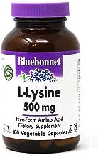 Bluebonnet L-Lysine 500 Mg Vitamin Capsules, 100Count