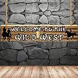 Western Party Dekoration Lieferungen Western Cowboy Motto Banner Lieferungen Western Party Hintergrund Foto Stand Wand Party Dekor