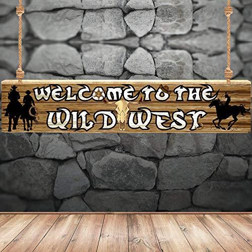 Suministros de Decoración de Fiesta Occidental Suministros de Pancarta Temática de Vaquero Occidental Decoración de Fiesta de Pared de Telón de Fondo de Fiesta Occidental Decoración de Fiesta de Pared