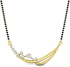 Candere by Kalyan Jewellers Cubic Zirconia Mangalsutra for Women