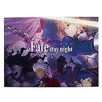 Fatestay Night Heaven'S Feel 500ピース ジグソーパズル キャラクター パズル アニメパターン 萌えグッズ 子供 初心者向け ギフト プレゼント