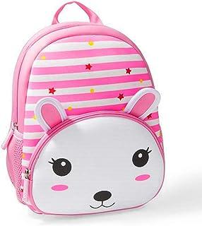 Toddler Backpack, 3D Cute Neoprene Animal Waterproof Preschool Backpack for Boys for 1-6 Years Girls, Rabbit