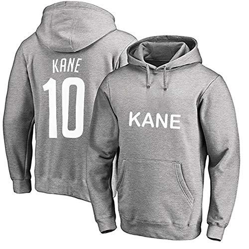 YUUY Jersey Hoodie für Herren und Damen Harry Kane # 10 Fan-Trikot-Kapuzenpullover, Loser Fußballtrikot-Pullover, S-3XL (Color : D, Size : Small)