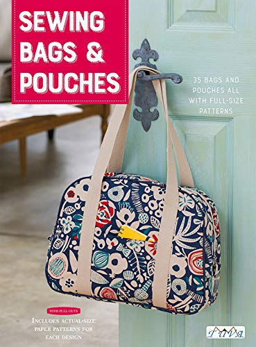 Sewing Bags & Pouches: 35 Bags and Pouches all with Full-Size Patterns (Lady Boutique)