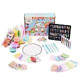 100 Piezas DIY Kit Slime para Niñas Niños, Set para Hacer Slime| Cuentas de Cristal, Purpurinas, Bolas de Espuma, etc| Juego Juguete Educativo y Creativo| Regalo de Cumpleaños Navidad Perfecto.