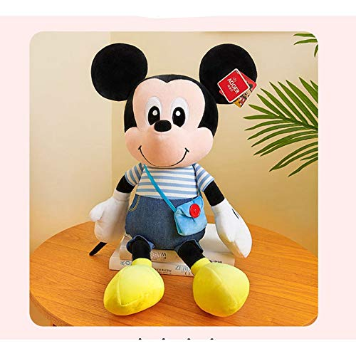 47-B Mickey & Minnie Mickey Mouse Plüschtier Puppe Babypuppe Kinder Geburtstagsgeschenk (Color : C, Size : 50cm)