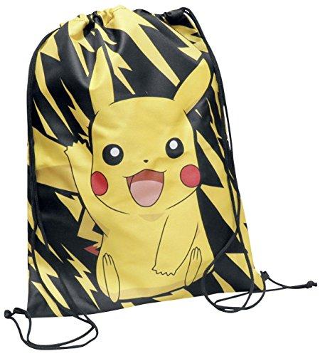 Pokemon Pikachu Turnbeutel schwarz/gelb