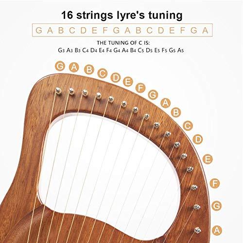 Lyre Harp 16...