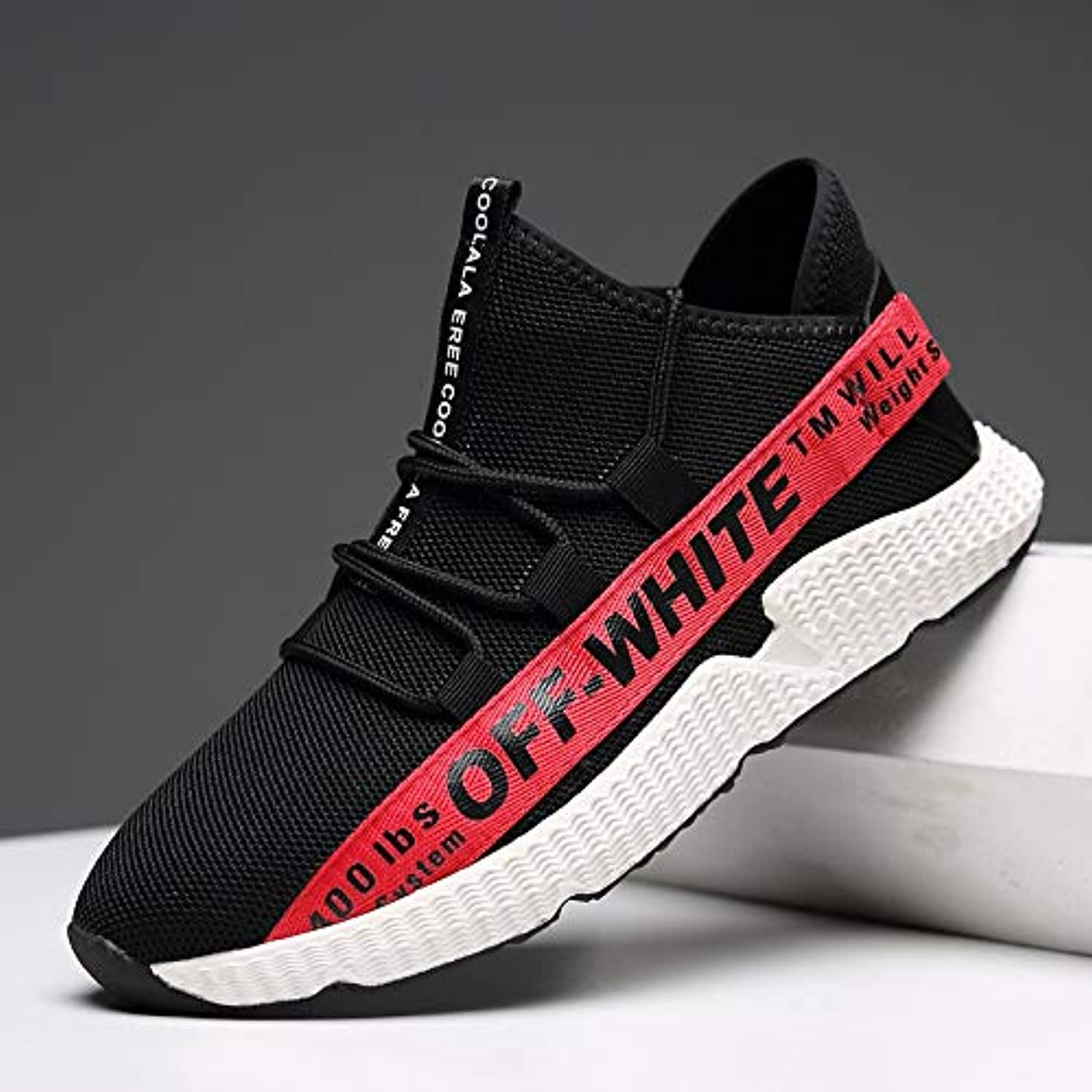 KMJBS Men's shoes Leisure Sports shoes Summer Street Fashion Fashion Flying Weaving Set Foot.