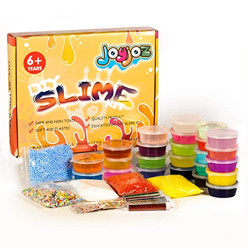 Kits De Slime Fournitures Slime Making Kit 24 Des Boites Cristal Slime Clay Slime Accessories Slime Tools Jouet En Argile Anti Stress Cadeau De Noël