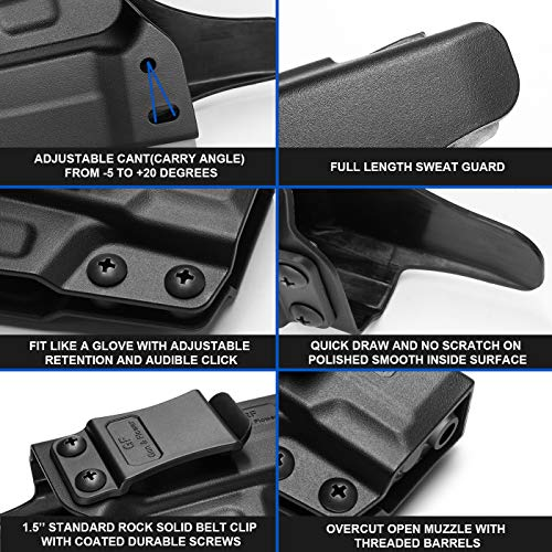 IWB Holster Compatible with Springfield XD-S 3.3