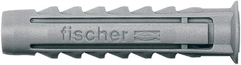 FISCHER Taco Sxt 8-5X50 / 50C-50% Tornillos Gratis/ (Caja de 50 Uds), 520752, Gris, 8x40 / 5x50