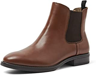 Women's Ankle Boots Classic Vintage Leather Chelsea Boots
