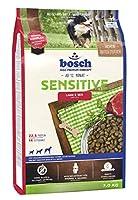 ボッシュ センシティブ ラム&ライス 1歳以上 フードに敏感な愛犬用総合栄養食 全犬種用 ハイプレミアム ドッグフード 3kg
