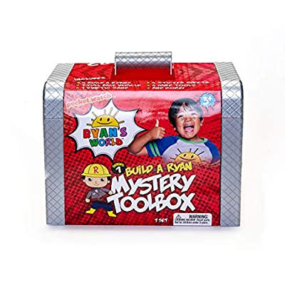 RYAN'S WORLD BK10799 Ryan's Mystery Tool Box by Goliath Group