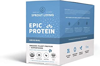 Sprout Living Epic Protein, Original, 16 Count