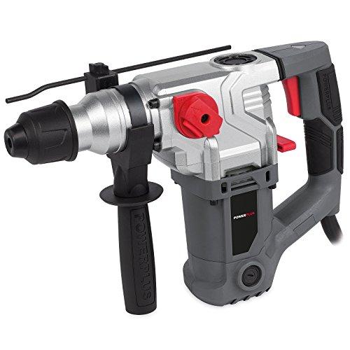 Powerplus Bohrhammer 1500 Watt - Schlaghammer Schlagbohrer POWE10080