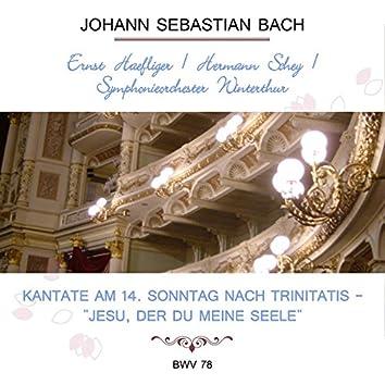 """Ernst Haefliger / Hermann Schey / Symphonieorchester Winterthur Play: Johann Sebastian Bach: Kantate Am 14. Sonntag Nach Trinitatis - """"Jesu, Der Du Meine Seele"""", Bwv 78 (Live)"""