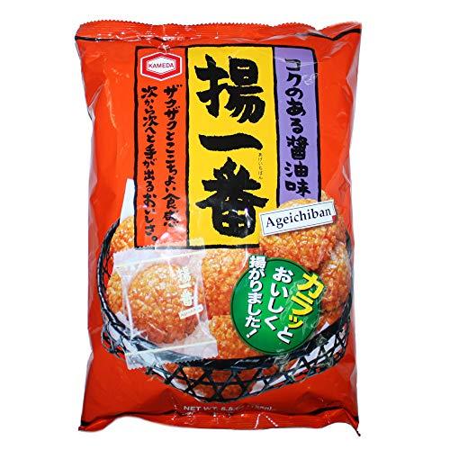 Kameda Crackers di Riso con Soia e Miele Ageichiban - 155 gr