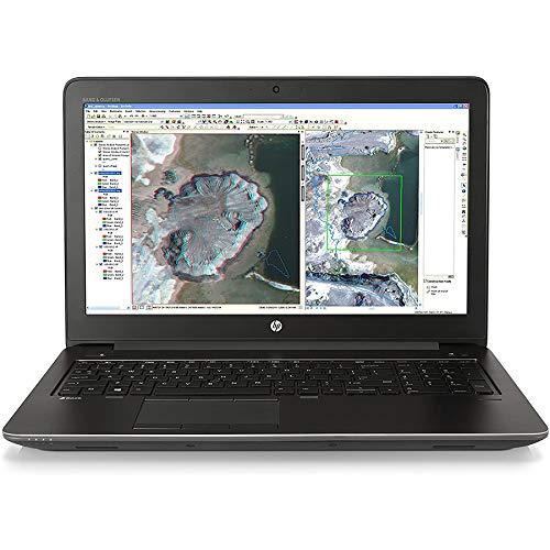 HP ZBook 15 G3 Notebook WorkStation | 15 pulgadas FullHD | Intel Core i7-6820hq 2.7 GHz | 32 GB RAM | 512 GB SSD | Nvidia Quadro M1000 | Windows 10 Pro (reacondicionado)