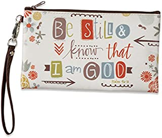 Brownlow Gifts Zippered Bag, Be Still and Know That I Am God