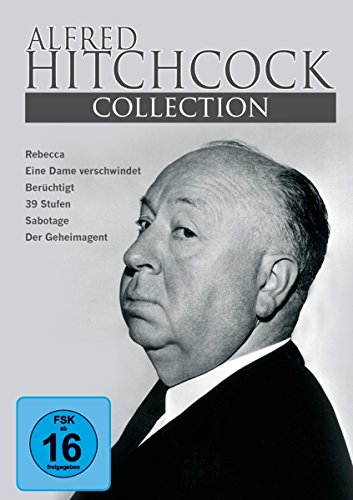 Alfred Hitchcock Collection 6 Filme auf 3 DVD