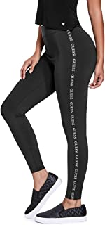 GUESS Factory Women's Cuddy Logo Stripe Leggings