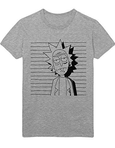 T-Shirt Rick K123464 Grau M