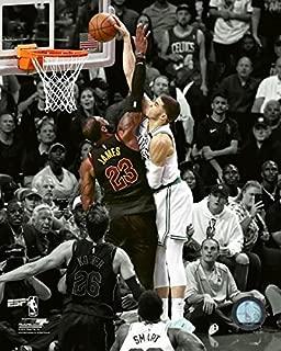 Jayson Tatum Boston Celtics 2018 NBA Playoff Spotlight Action Photo (Size: 11