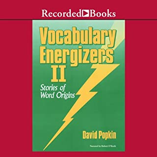 Vocabulary Energizers: Volume 2-Stories of Word Origins cover art