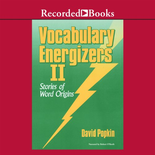 Vocabulary Energizers: Volume 2-Stories of Word Origins audiobook cover art