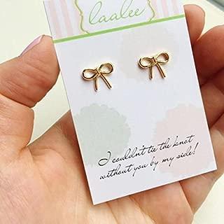Best ribbon of love stud earrings Reviews