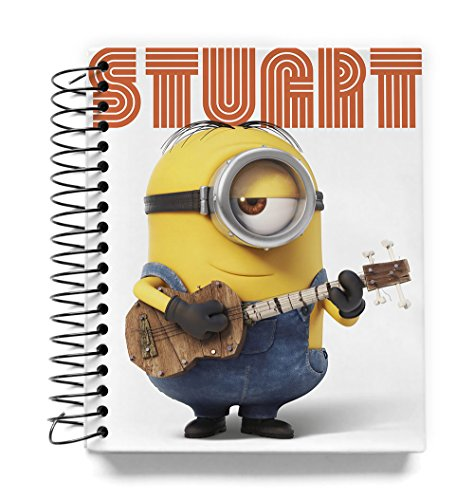 Grupo Erik – Mini Notebook Couverture rigide Minions Stuart, journal/carnet)