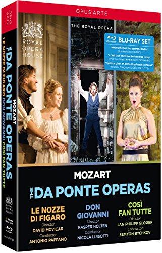 Mozart, W.A.: Nozze di Figaro (Le) / Don Giovanni / Così fan tutte (The Da Ponte Operas) (Royal Opera House, 2006-2016) (4-Blu-ray Disc Box Set) [Blu-ray]