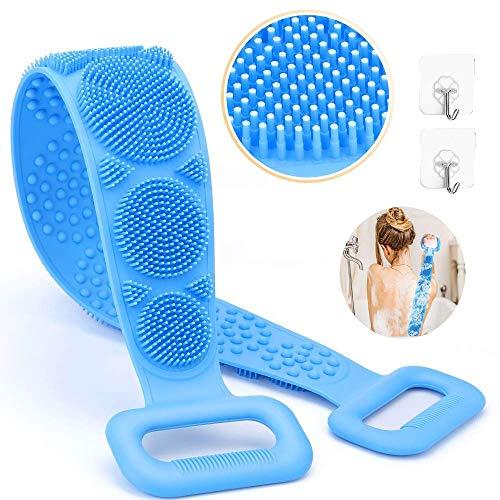 Kavard Silicone Bath Body/Skin Brush Belt,Exfoliating/Exfoliator Body Back...