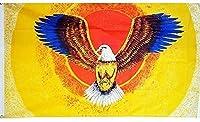 国旗 アメリカ 米国 USA イーグル 鷲 ワシ 特大フラッグ