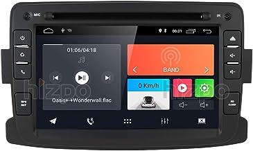 Autoradio Android 10 avec Navigation GPS Bluetooth pour Dacia Renault Dokker Duster Logan..