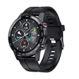 Vikyuvi Vikfit Gear 360 Retina Display Full Touch Smart Watch with All Day Heart Rate, BP, SpO2, App...