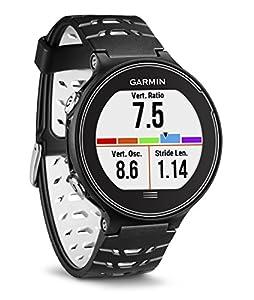 Reloj de running GPS con pantalla táctil a color de alta resolución Las dinámicas de carrera avanzadas incluyen equilibrio de tiempo de contacto con el suelo, longitud de zancada y relación vertical Incluye puntuación de estrés, condición de rendimie...