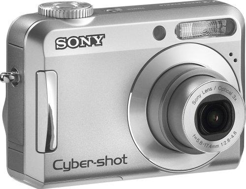 Sony Cybershot S650 7.2MP Digital Camera with 3x Optical Zoom (OLD MODEL)