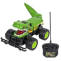 7. ArtCreativity 14″ Remote Control Dinosaur Monster Truck