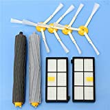 NOBRAND 8pcs Kit de Accesorios de aspiradora Filtros y cepillos...