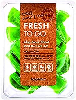 Tonymoly Fresh To Go Aloe Mask Sheet, 2-Piece, 20g