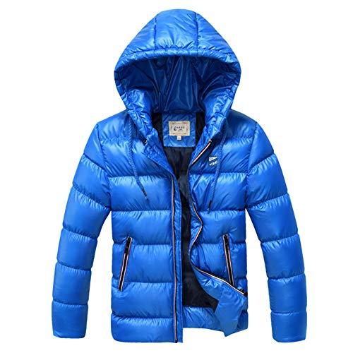 SXSHUN Niños Chaqueta de Nieve para Invierno Boys' Snow Jacket Abrigo Acolchado con Capucha para...