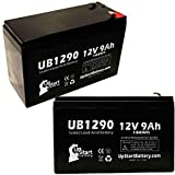 2 Pack Replacement for Minuteman PRO1500RT Battery - Replacement UB1290...