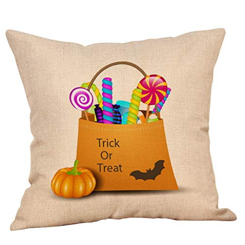 Beonzale Herbst Halloween Taille Throw Kissenbezug Sofa Home Decor Kissenbezug
