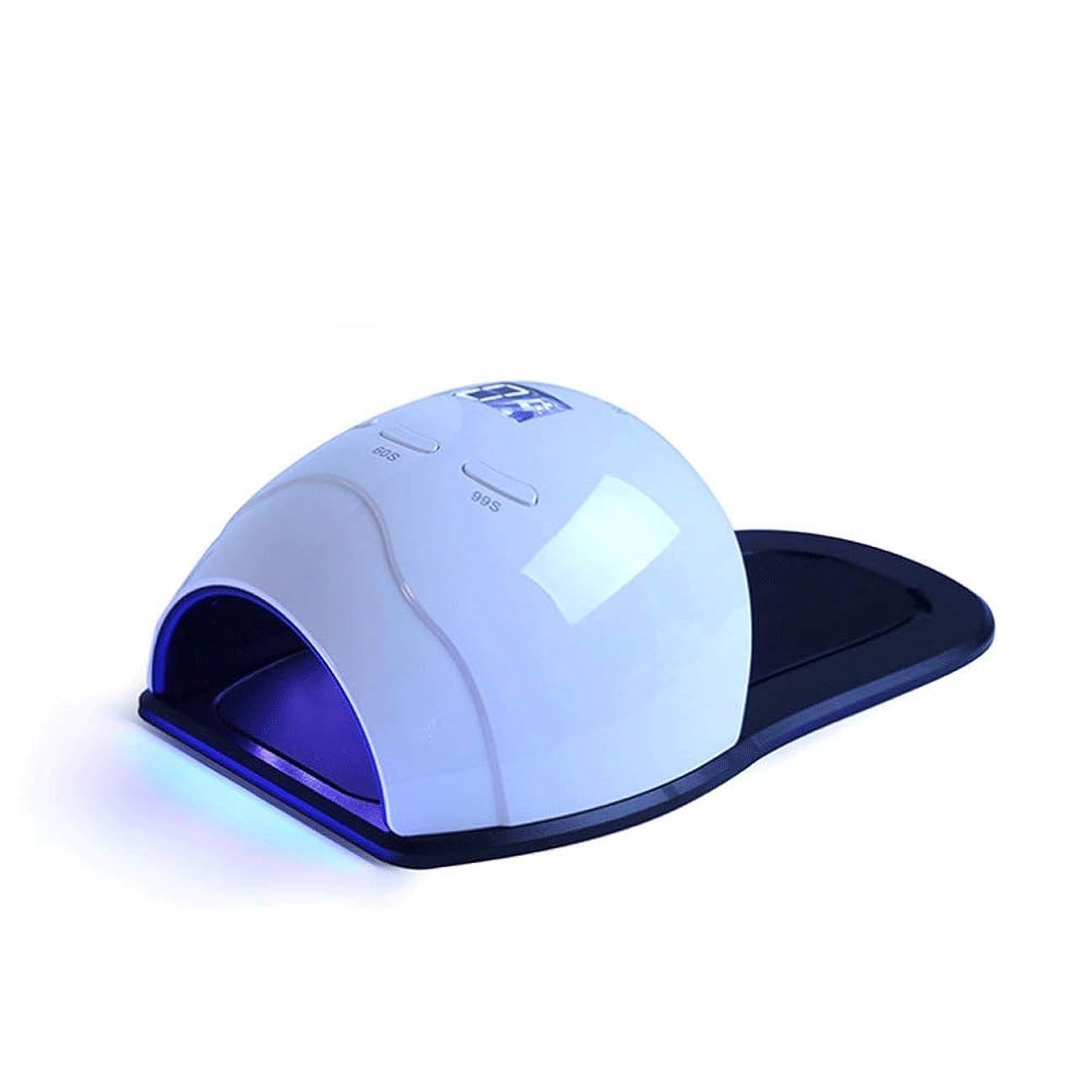 ネイル光線療法機 ネイルドライヤー - ネイルライトネイルポリッシュUVネイルデシカント、ゲルとポリッシング、センサーとLEDディスプレイ