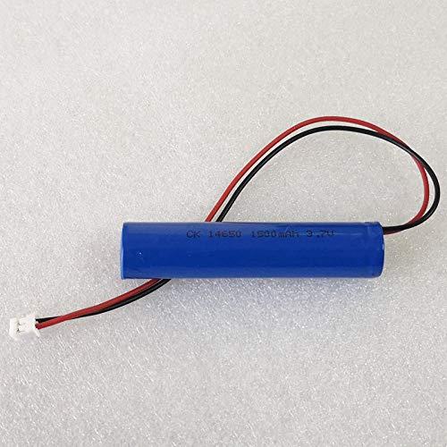 mrwellog 1500 MAH 3,7 V 14650 batería Recargable de Iones de Litio baterías de celda de Iones de Litio con XH2.54 para maquinilla de Afeitar eléctrica con Linterna-2 Piezas